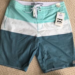 New with tags Billabong swim trunks